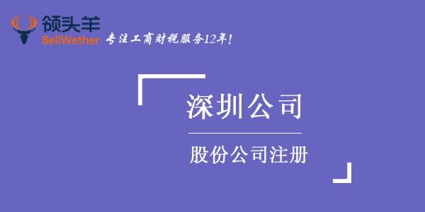 深圳股份公司注册代办